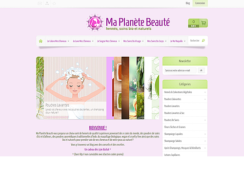 http://maplanetebeaute.fr